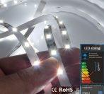 LED szalag beltéri (3528-060-FN) - fehér (hideg) Dekor, 4,8W / méter