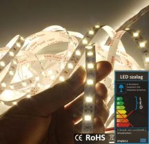 LED szalag beltéri (2835-060) - fehér (természetes), 14,4W / méter