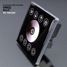 Fali LED fényerő szabályzó (DMZJ) - 96 Watt - fekete