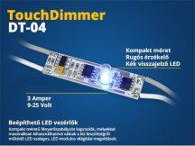 Alu profilba LED vezérlő (DT04) érintős kapcsoló, fényerőszabályzó