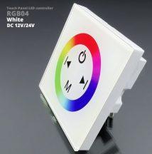 Fali RGB LED vezérlő (RGB04) - 144 Watt - fehér