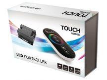 RGB vezérlő - Rádiós - 12V/216 Watt - Touch Series Black