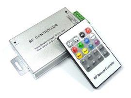 RGB vezérlő - Rádiós - 144 Watt (20 gombos távirányítóval)