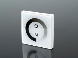 Fali LED fényerő szabályzó (TPC6320), 120W, fehér
