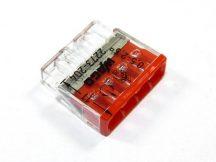 Wago Compact vezeték összekötő, 4 vezeték nyílásos