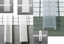 Takaró léc alu profilokhoz 2 m, különböző kivitelben