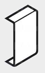 Takarósapka felerősítő elemre, fehér vagy szürke
