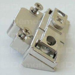 Adapter a teleszkópos karok ALU keretre rögzítéshez, vagy középpánt rögzítéséhez