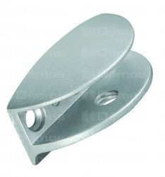 Polctartó üveg polcra MARCINA, 11 mm, 26x50x25 mm
