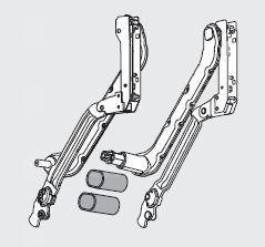 Karok Standard vagy Servo-Drive -hoz, több méretben