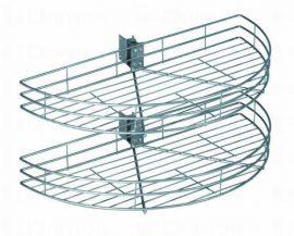 Strong karuszel, 1/2 kör, rúddal vagy anélkül, 800-900 mm