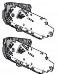 Aventos-HS mechanizmus, többféle kivitelben