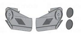 Takarósapka HS standard vagy servo-drive vasalathoz, fehér vagy szürke