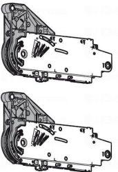 Aventos-HL mechanizmus, többféle kivitelben