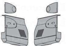 Takarósapka HK standard vagy servo-drive vasalathoz, fehér vagy szürke