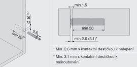 Tip-On dugattyú pántokhoz több változatban