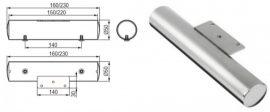Strong NN391, Ø 50 mm, fényes króm, több méretben