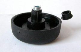 """Állítható csúszótalp """"pogácsa""""; 17-40 mm"""