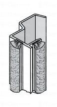 Sevroll fogantyú profil, Universal, több színben, szálban 2 700 mm