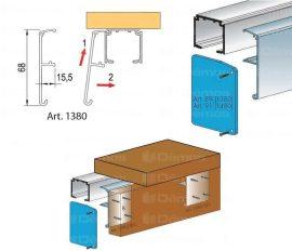 40-120 kg Kiegészítők felső vezető sínhez