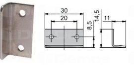 Lehmann tartozék 421, szög ütköző 30 mm